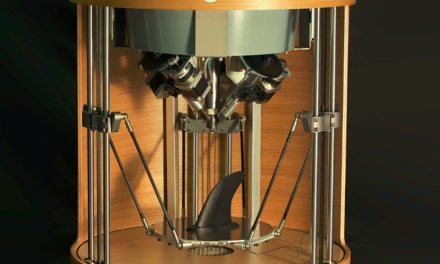New Steampunk 3D printer from Pollen