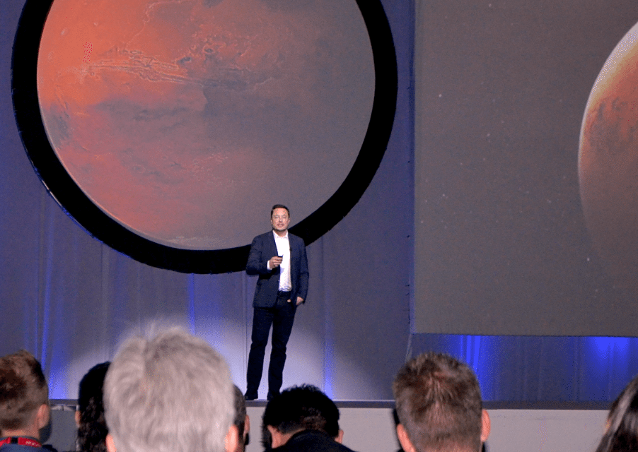 Elon Musk Shows How 3D Printing Powers Mission to Colonize Mars