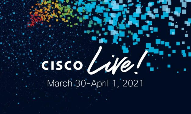 Cisco Live vConference Coming Up March 30-31, 2021